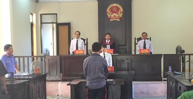 Hình ảnh tuyên án tại phiên tòa